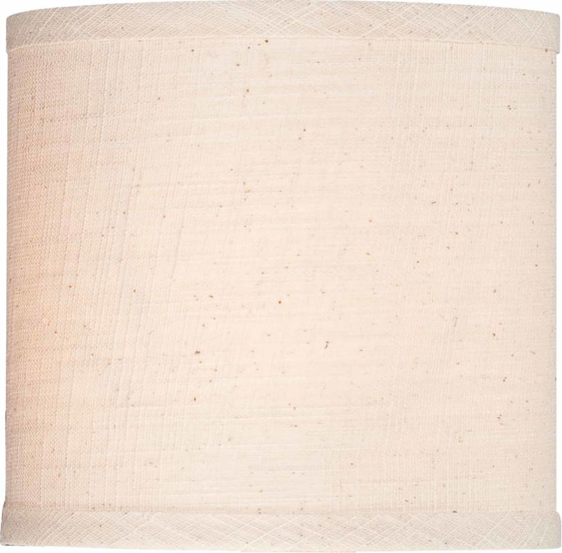 Volume Lighting V0302 Ecru Linen Drum Shade Ecru Linen Accessory