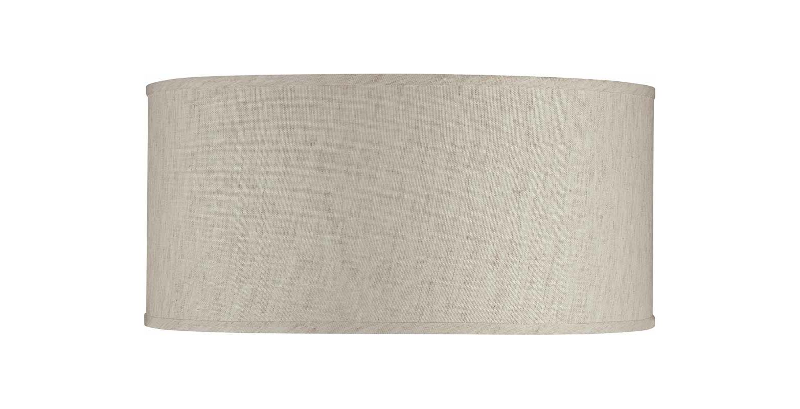 Volume Lighting V0325 Ecru Linen Shade Ecru Linen Accessory Shades