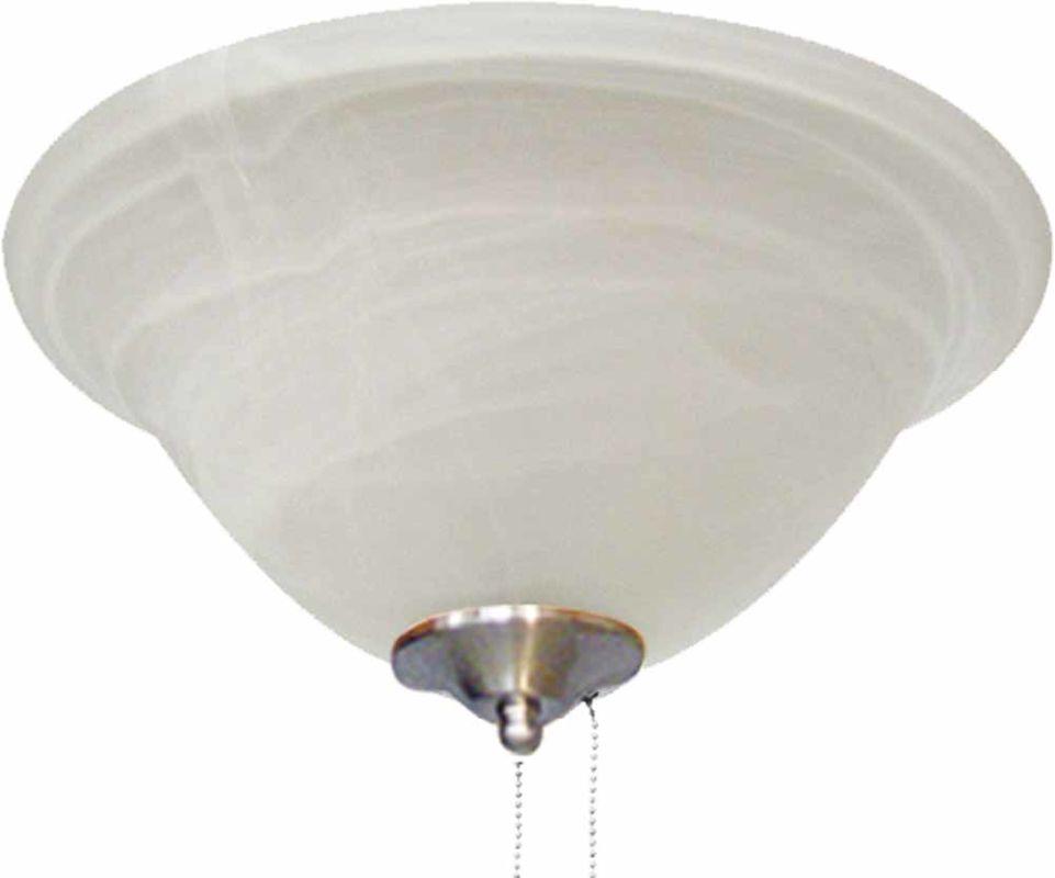 Volume Lighting V0902 Ceiling Fan Light Kit 2 Light with Alabaster