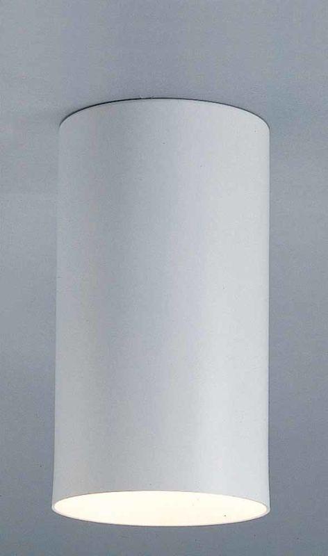 Volume Lighting V1015-6 White 1 Light Can Light Flush ...