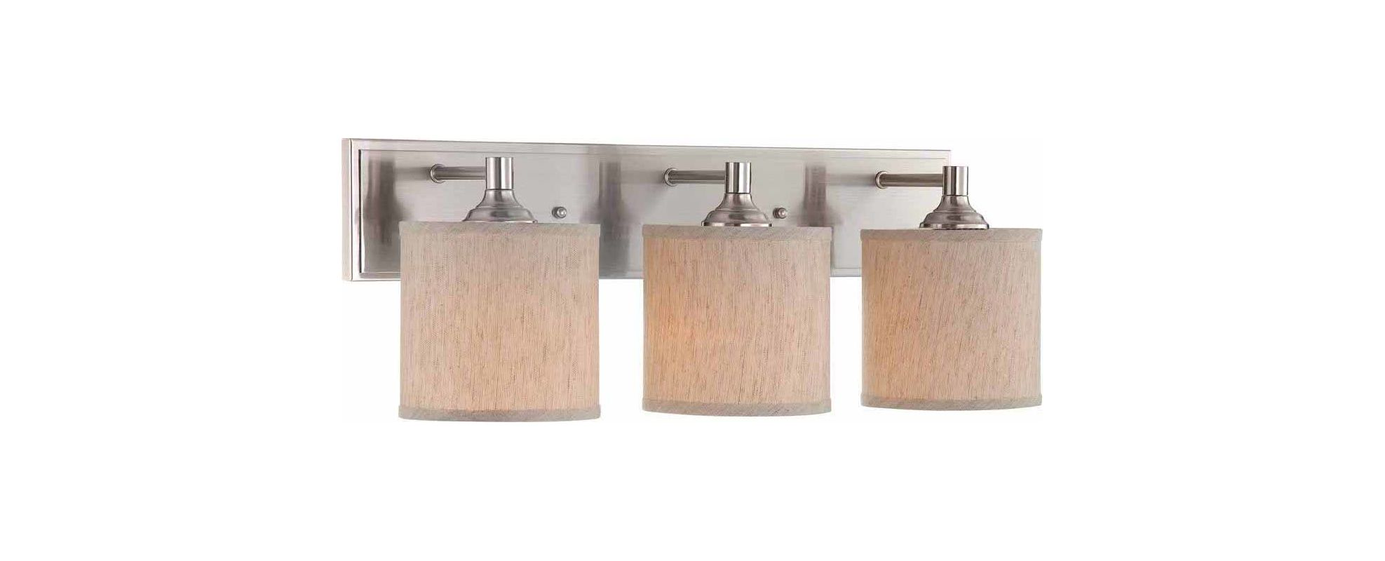 """Volume Lighting V1173 V0018-34 Milena 3 Light 23"""" Width Bathroom"""
