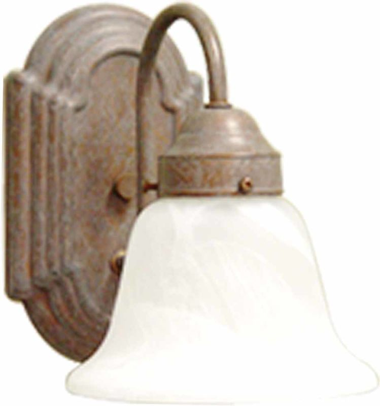 "Volume Lighting V1341 Marti 1 Light 6"" Width Bathroom Sconce Prairie"