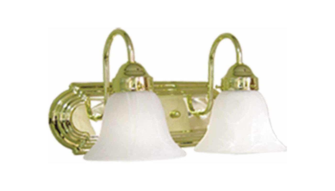 "Volume Lighting V1342 Marti 2 Light 14"" Width Bathroom Vanity Light"