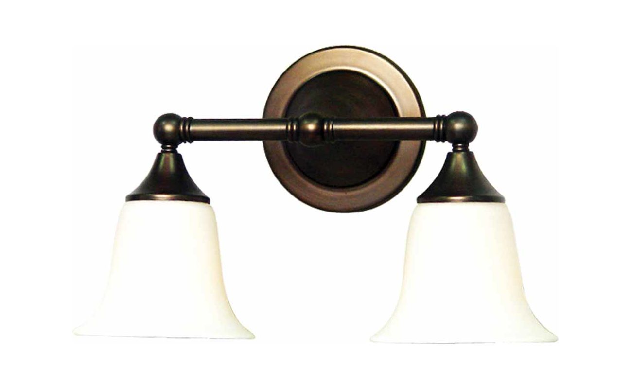 "Volume Lighting V1362 2 Light 15.5"" Width Bathroom Vanity Light with"
