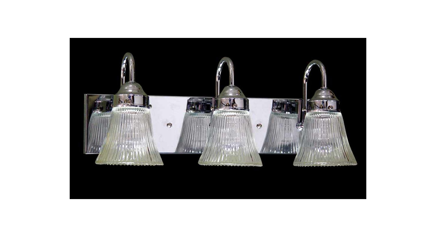 "Volume Lighting V1523 Marti 3 Light 19"" Width Bathroom Vanity Light"
