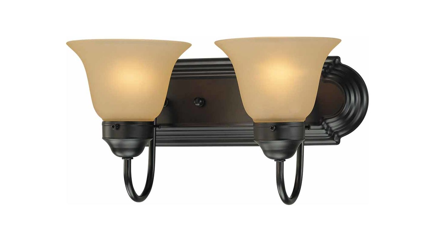 "Volume Lighting V1592 Marti 2 Light 14"" Width Bathroom Vanity Light"