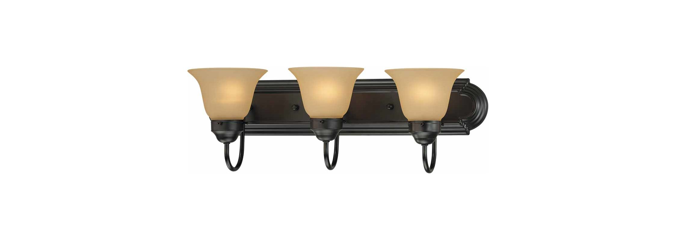"Volume Lighting V1593 Marti 3 Light 24"" Width Bathroom Vanity Light"
