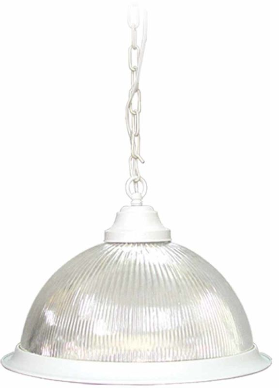 Volume Lighting V1840-LQ Roth 1 Light Down Light Pendant with Clear