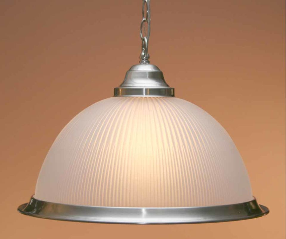 Volume Lighting V1850 Roth 1 Light Down Light Pendant with Frosted