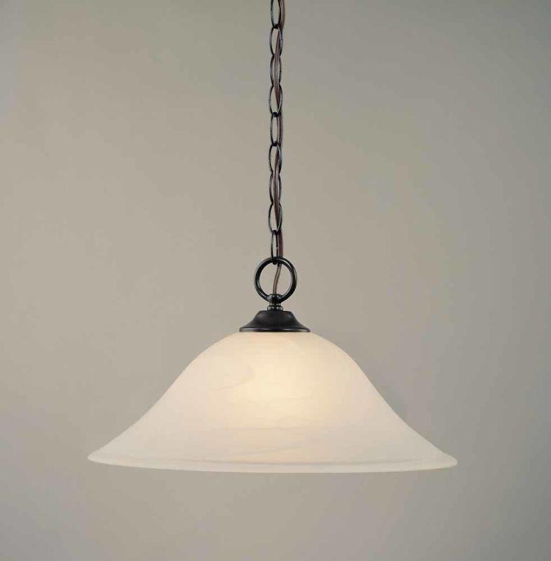 Volume Lighting V1870 Bernice 1 Light Down Light Pendant with
