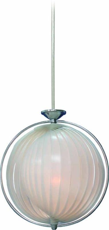 "Volume Lighting V1943 3 Light Bowl Shaped 25.5"" Height Pendant with"