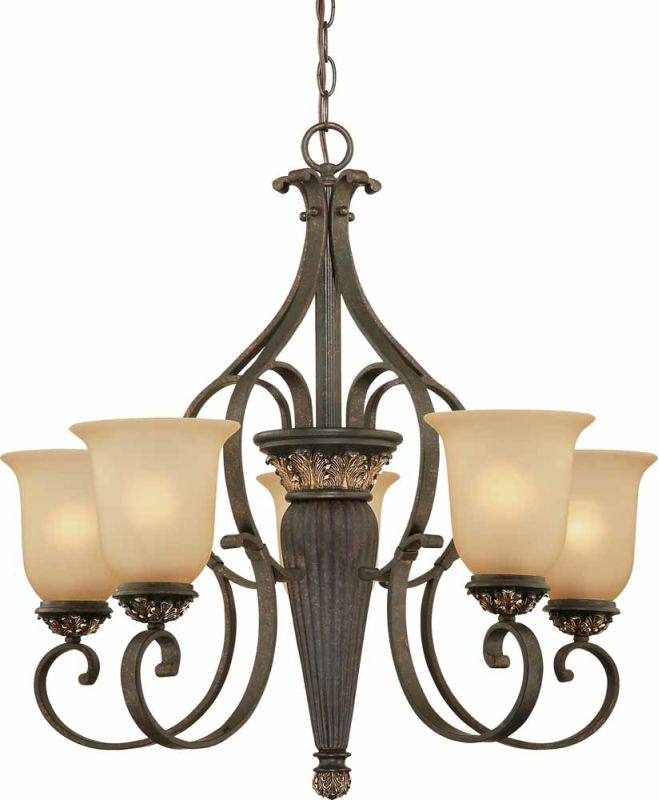Volume Lighting V2205 Bristol 5 Light 1 Tier Chandelier Vintage Bronze Sale $477.00 ITEM: bci2148571 ID#:V2205-82 :