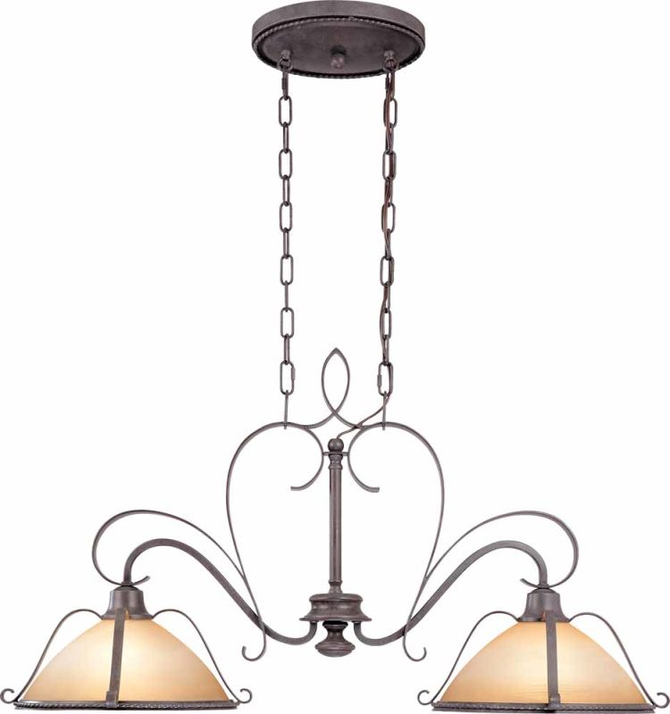 Volume Lighting V2642 Altamonte 2 Light 1 Tier Chandelier Frontier Sale $335.00 ITEM: bci2148730 ID#:V2642-53 :