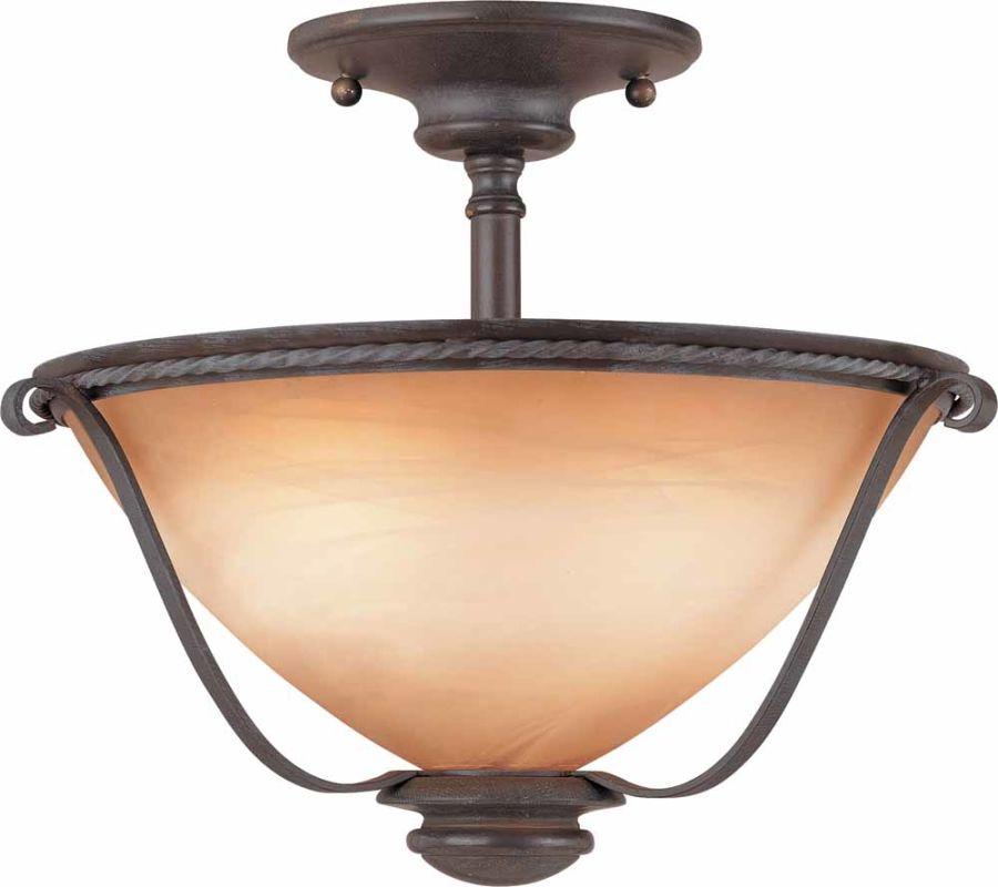 Volume Lighting V2650 Altamonte 2 Light Semi-Flush Ceiling Fixture