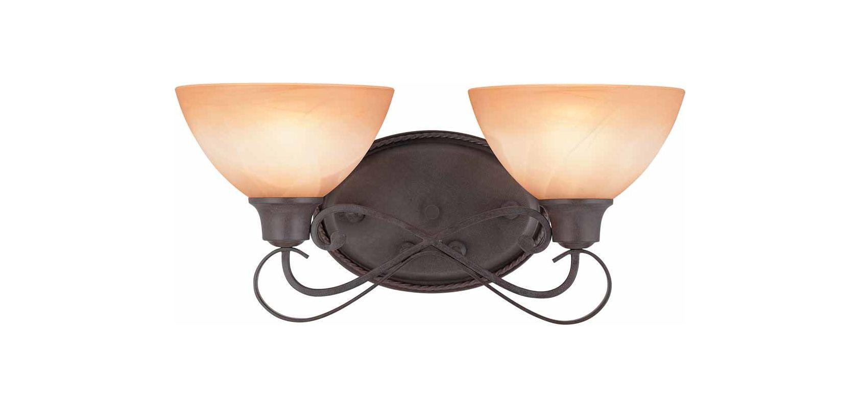 """Volume Lighting V2662 Altamonte 2 Light 17.75"""" Width Bathroom Vanity"""