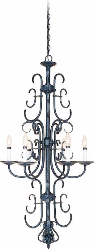 Volume Lighting V2966 Bornholm 6 Light 1 Tier Chandelier Antique Iron Sale $158.40 ITEM: bci2148808 ID#:V2966-36 :