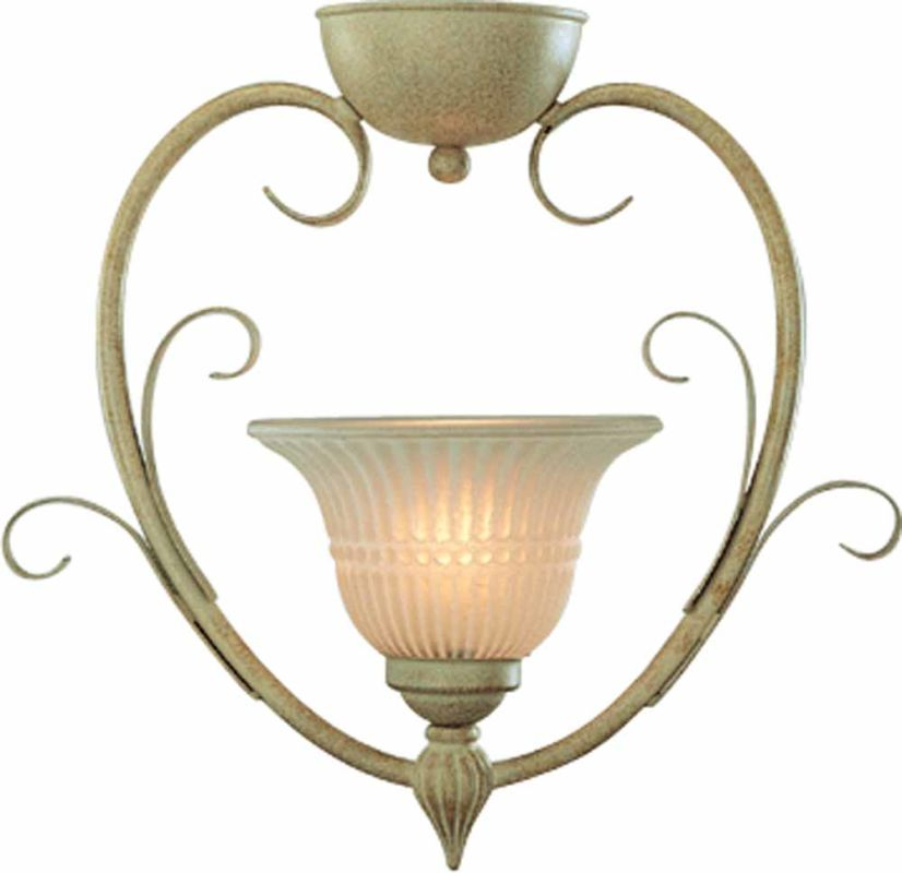 Volume Lighting V3331 Florentia 1 Light Semi-Flush Ceiling Fixture Sale $34.20 ITEM: bci2148887 ID#:V3331-71 :