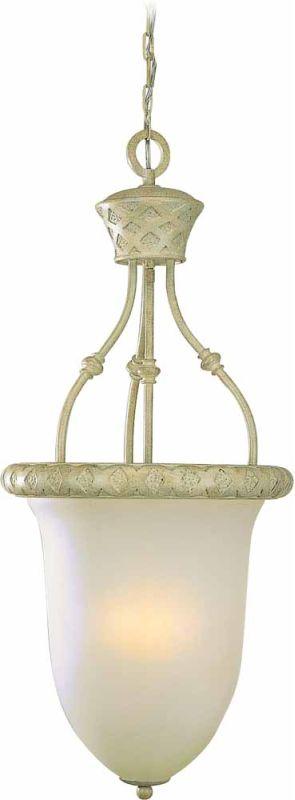 Volume Lighting V3414 Alexandria 3 Light Bowl Shaped Pendant Golden