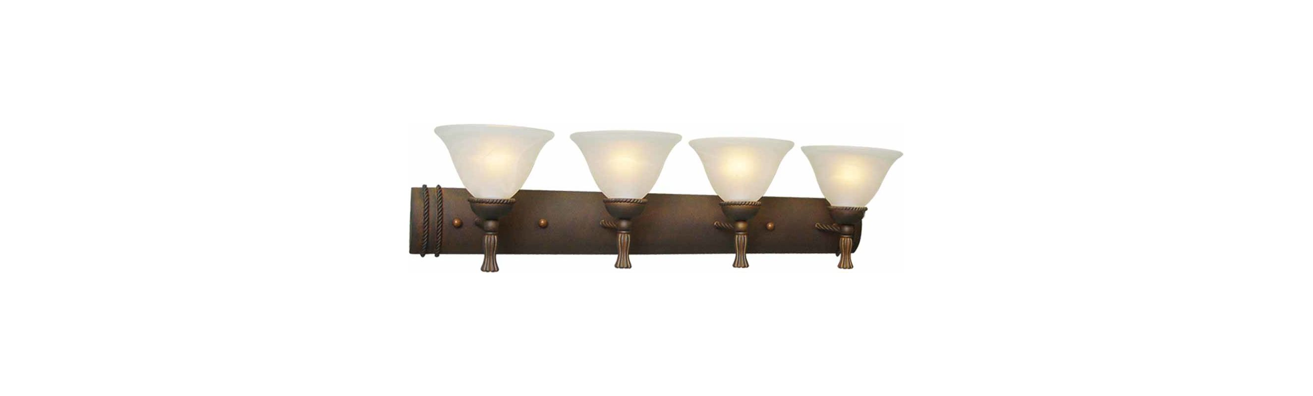 "Volume Lighting V3454 Clifden 4 Light 37.5"" Width Bathroom Vanity"