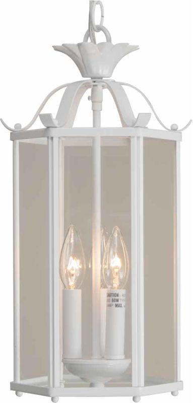 "Volume Lighting V5093-LQ 3 Light Foyer 16.25"" Height Pendant with"