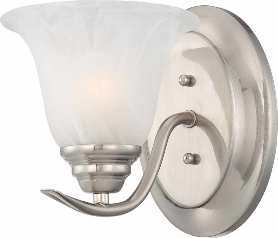 Volume Lighting V5231 Trinidad Wall Sconce with 1 Light and Alabaster