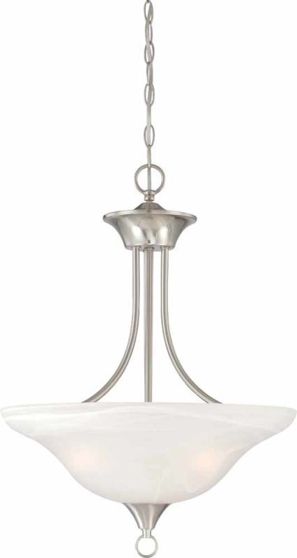 "Volume Lighting V5243 Trinidad 3 Light Bowl Shaped 24"" Height Pendant"