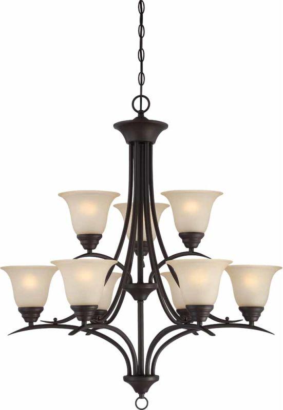 Volume Lighting V5479 79 Antique Bronze Trinidad 9 Light