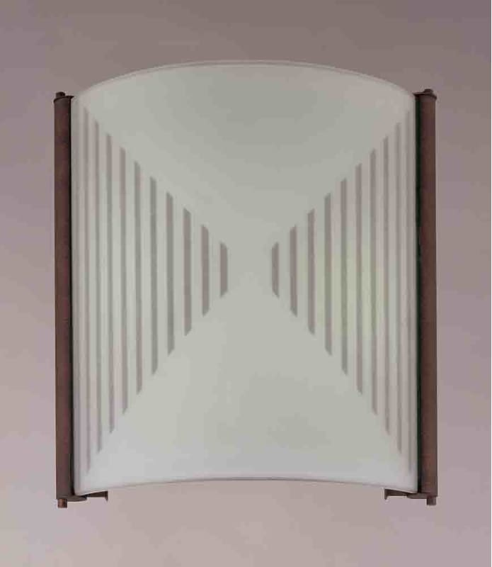 """Volume Lighting V6044 11"""" Height Wall Washer Sconce with 2 Lights and"""