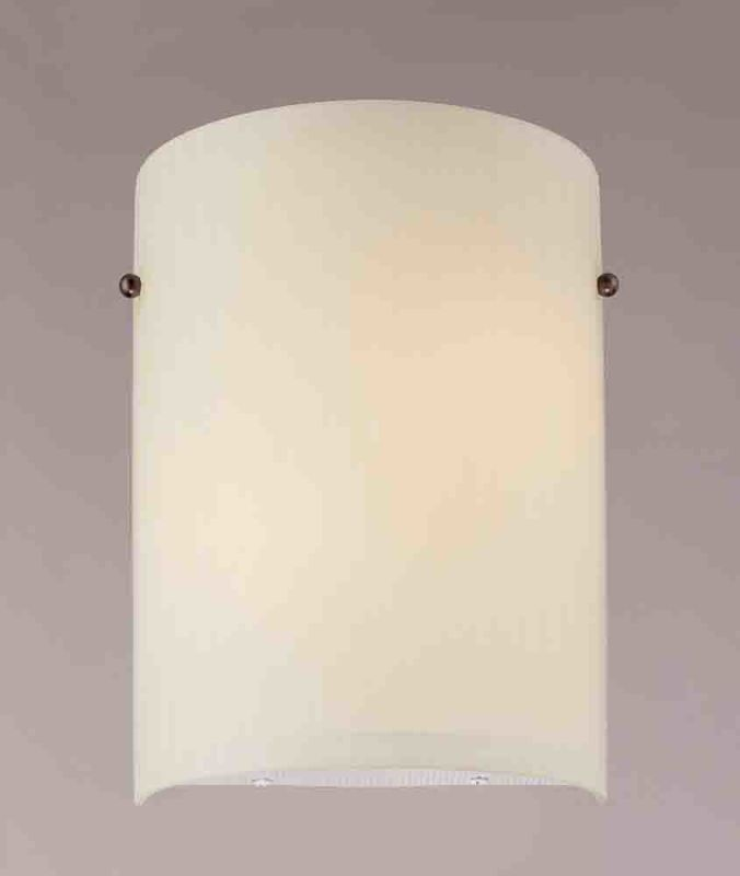 """Volume Lighting V6065 8"""" Width Wall Washer Sconce with 2 Lights and"""