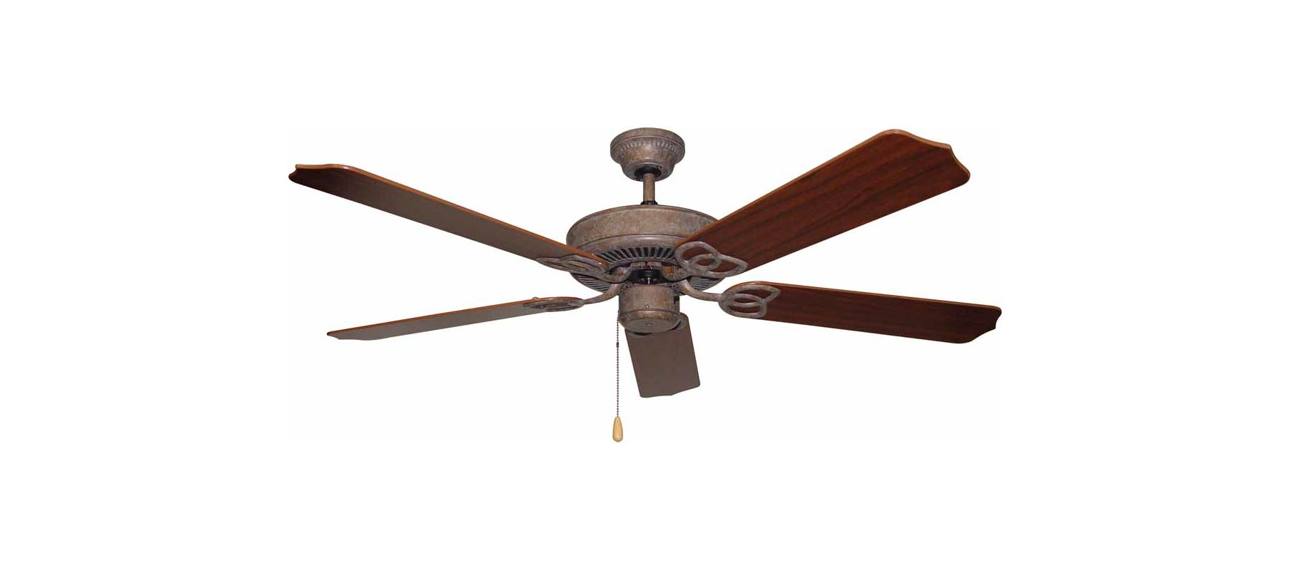"Volume Lighting V6152 5 Blade 52"" Indoor Ceiling Fan Prairie Rock Fans"