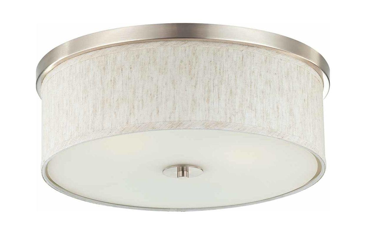 Volume Lighting V6253 33x1 V0045 40x1 Brushed Nickel