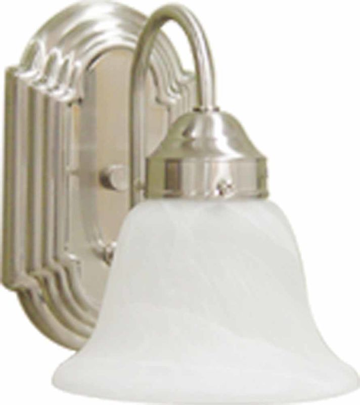 Volume Lighting V6451 Minster Wall Sconce with 1 Light and Alabaster