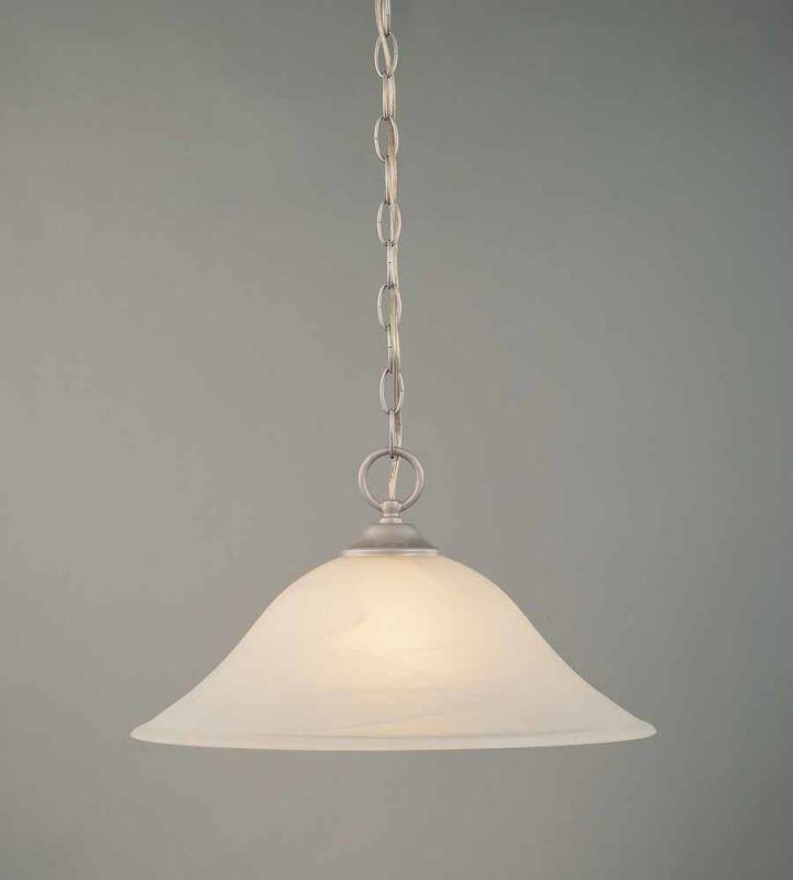 """Volume Lighting V6546 Bernice 1 Light Down Light 9"""" Height Pendant"""