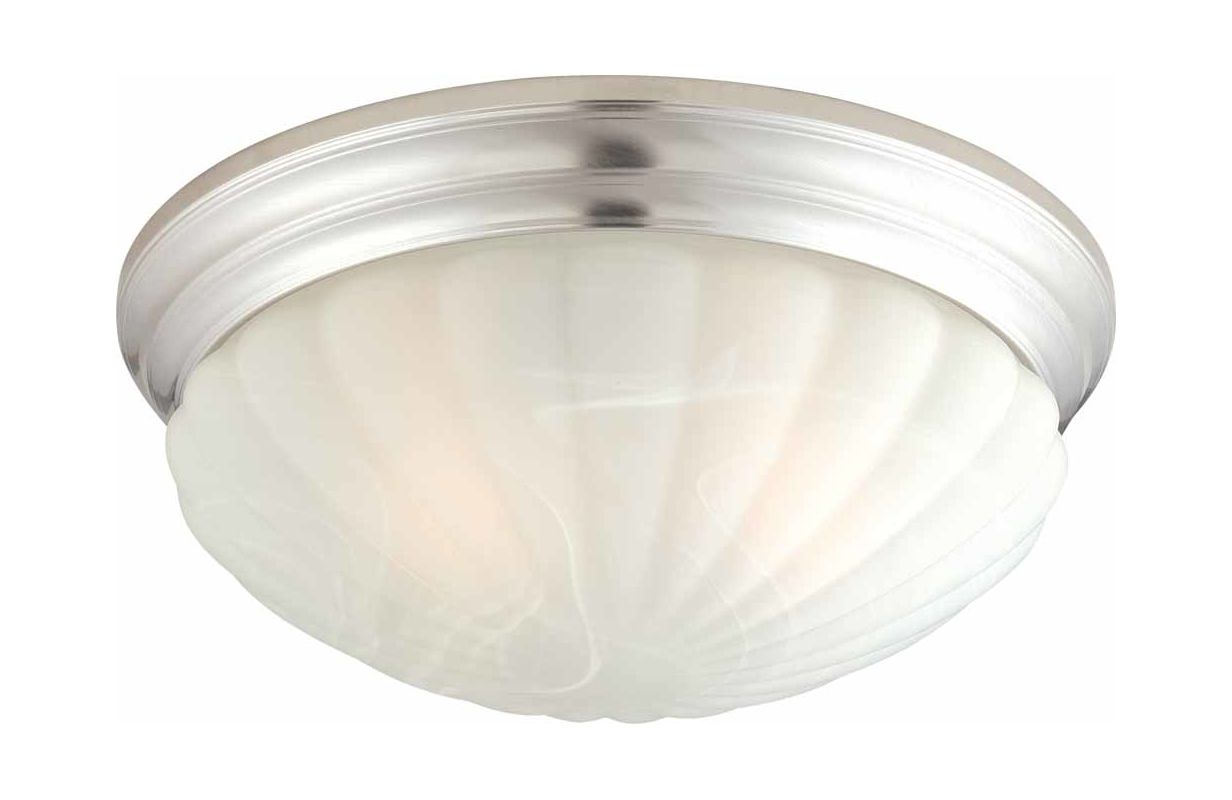 Volume Lighting V6592 2 Light Flush Mount Ceiling Fixture with