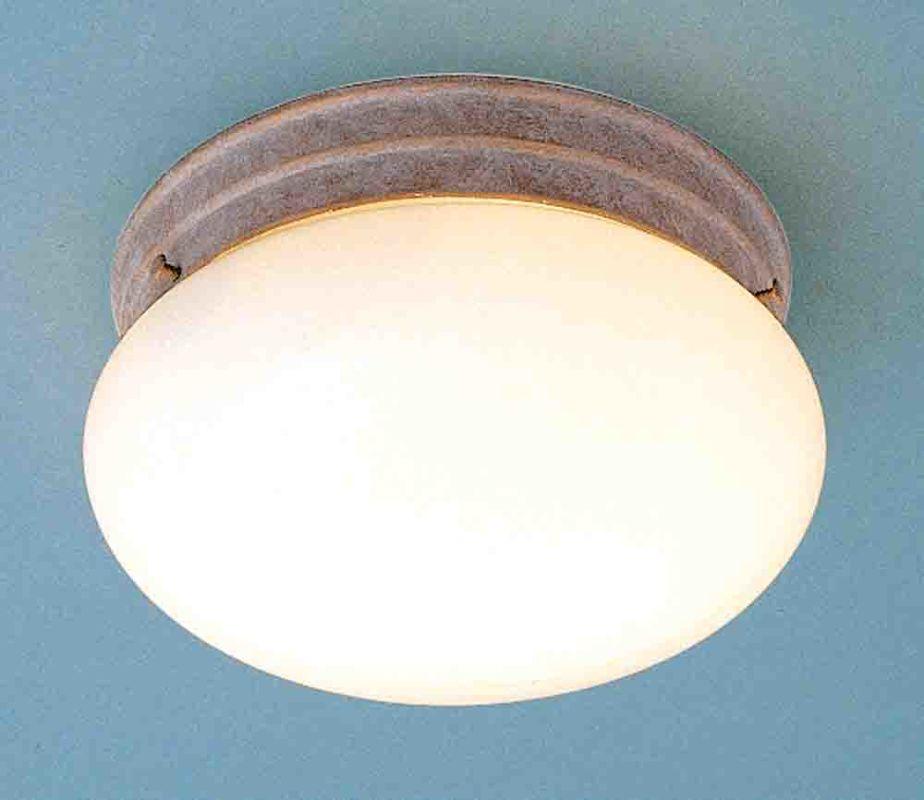 """Volume Lighting V7006 1 Light 7"""" Width Flush Mount Ceiling Fixture"""