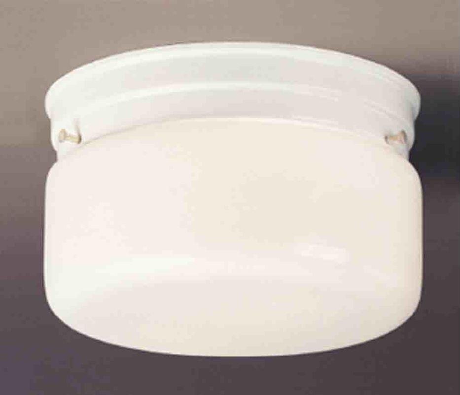 "Volume Lighting V7038 2 Light 8.75"" Width Flush Mount Ceiling Fixture"