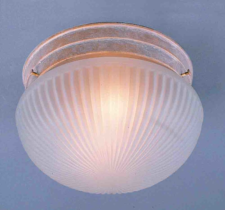 "Volume Lighting V7050 2 Light 11"" Flush Mount Ceiling Fixture Prairie"