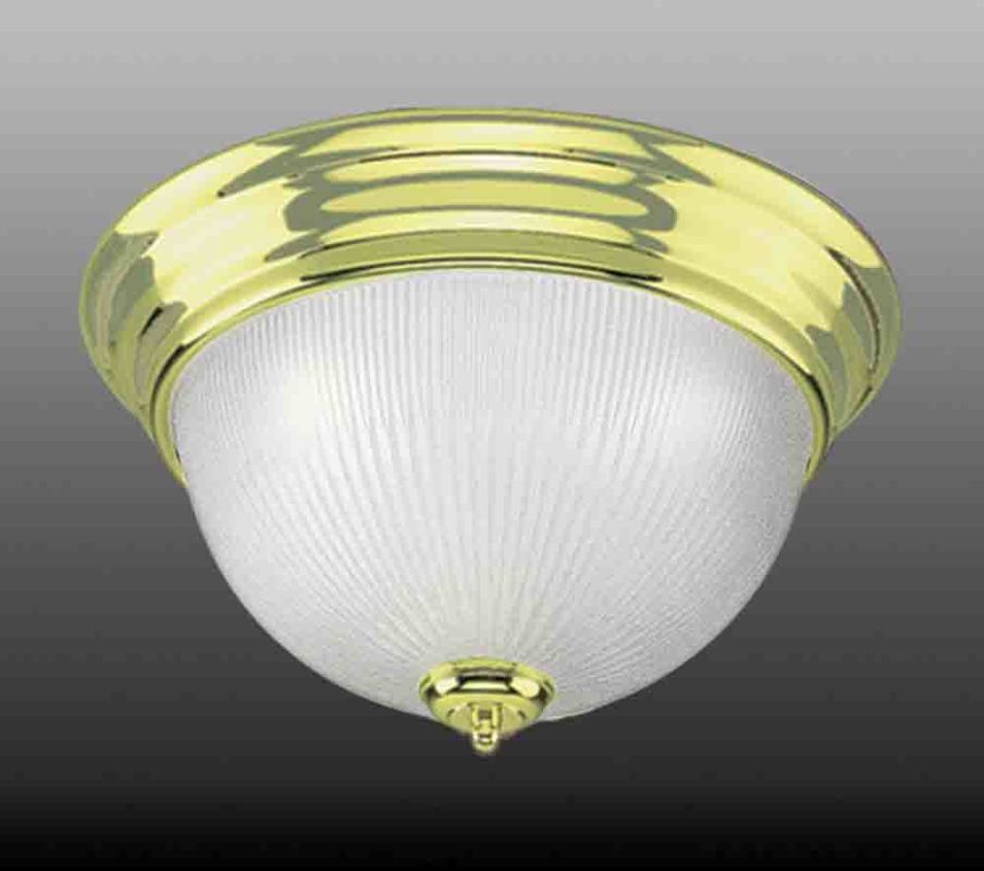 "Volume Lighting V7274 3 Light 15"" Flush Mount Ceiling Fixture with"