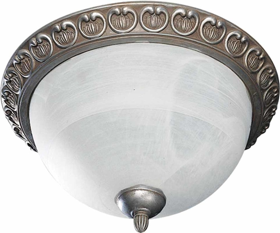 Volume Lighting V7444 Caesarea 3 Light Flush Mount Ceiling Fixture