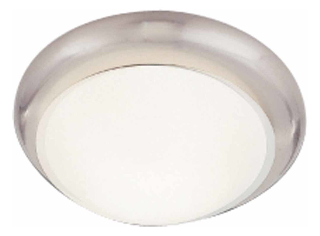 """Volume Lighting V7530 1 Light 11"""" Flush Mount Ceiling Fixture with"""