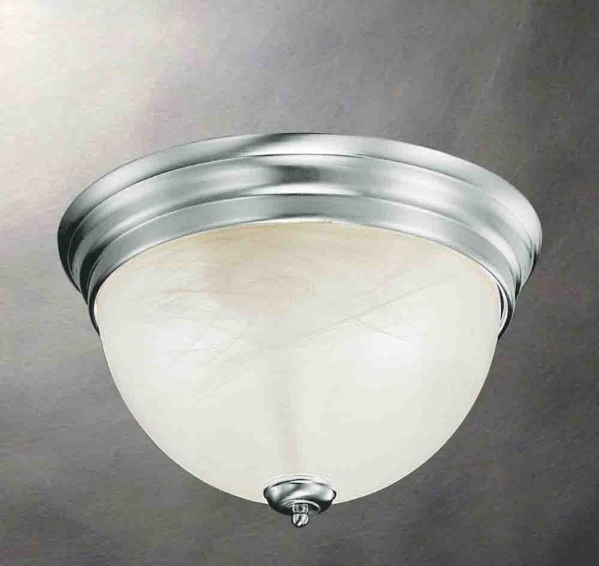 Volume Lighting V7610 Troy 1 Light Flush Mount Ceiling Fixture with Sale $32.00 ITEM: bci2149921 ID#:V7610-33 :