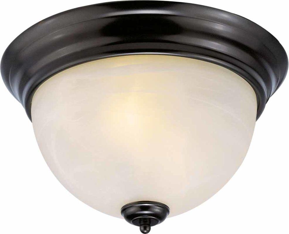 Volume Lighting V7614 Troy 3 Light Flush Mount Ceiling Fixture with