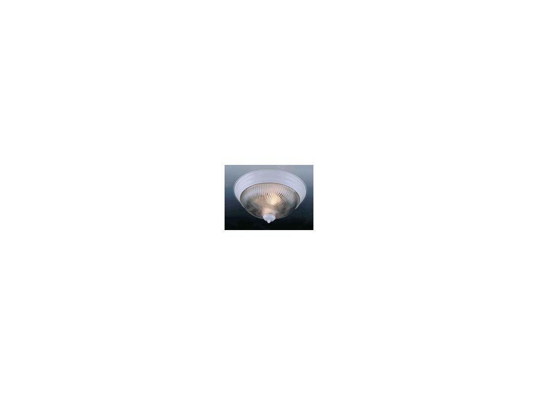 "Volume Lighting V7710 1 Light 11"" Flush Mount Ceiling Fixture with"