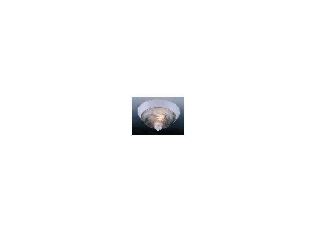 """Volume Lighting V7714 3 Light 15"""" Flush Mount Ceiling Fixture with"""