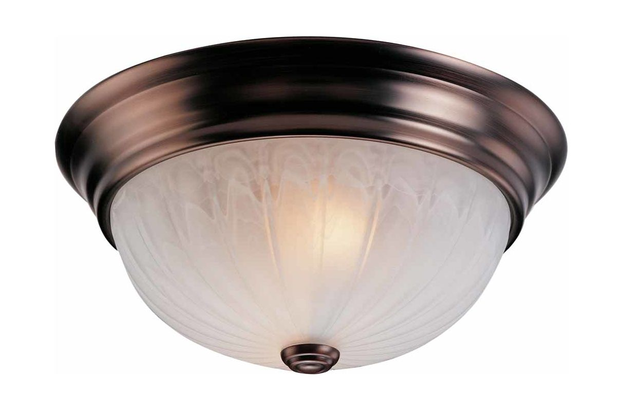 "Volume Lighting V7732 Marti 2 Light 13"" Flush Mount Ceiling Fixture"