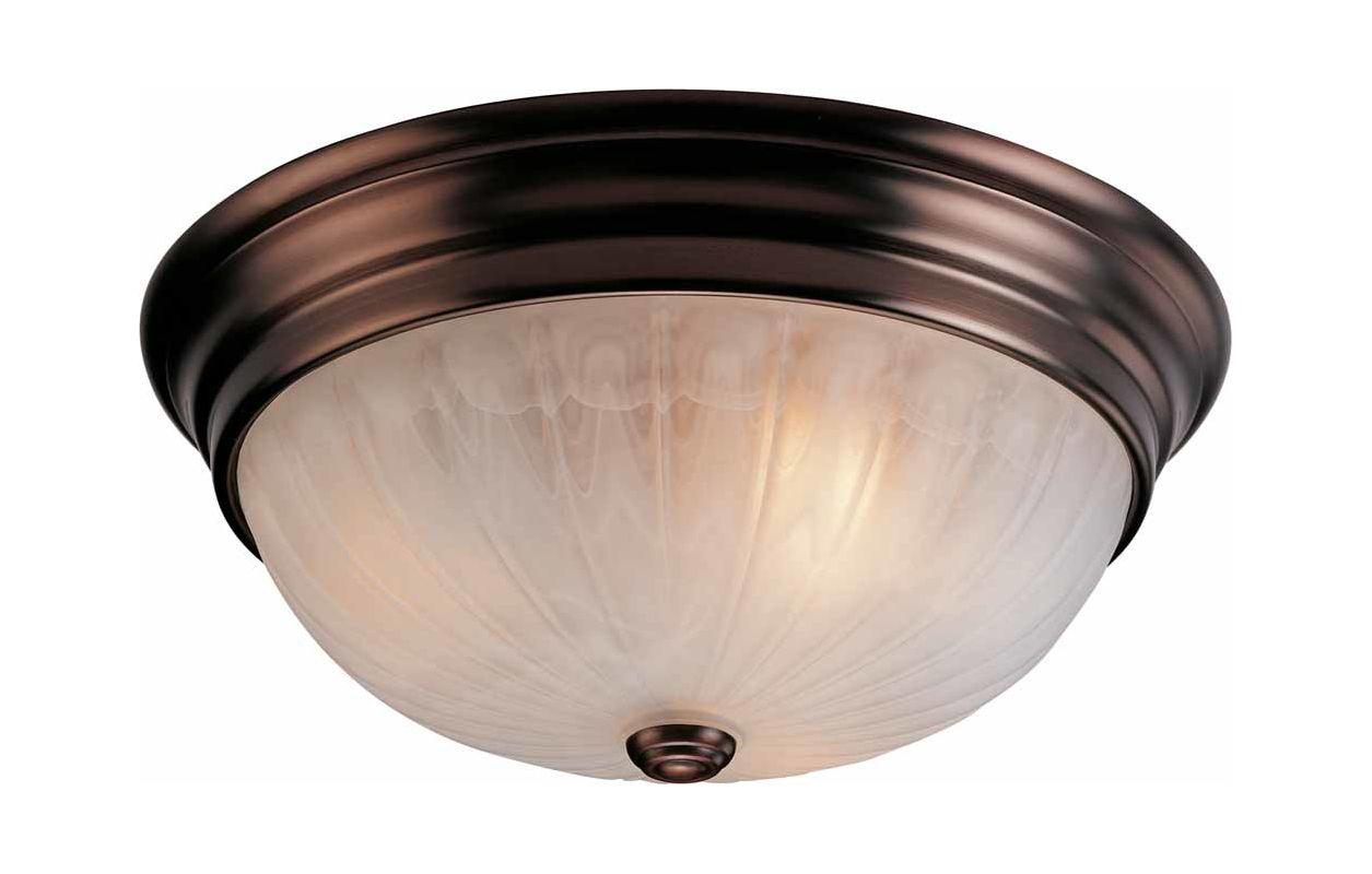 "Volume Lighting V7734 Marti 3 Light 15"" Flush Mount Ceiling Fixture"