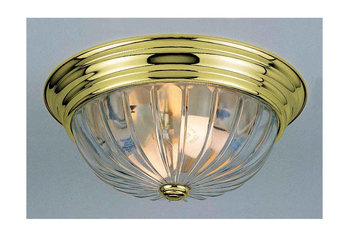 """Volume Lighting V7811 2 Light 13"""" Flush Mount Ceiling Fixture with"""