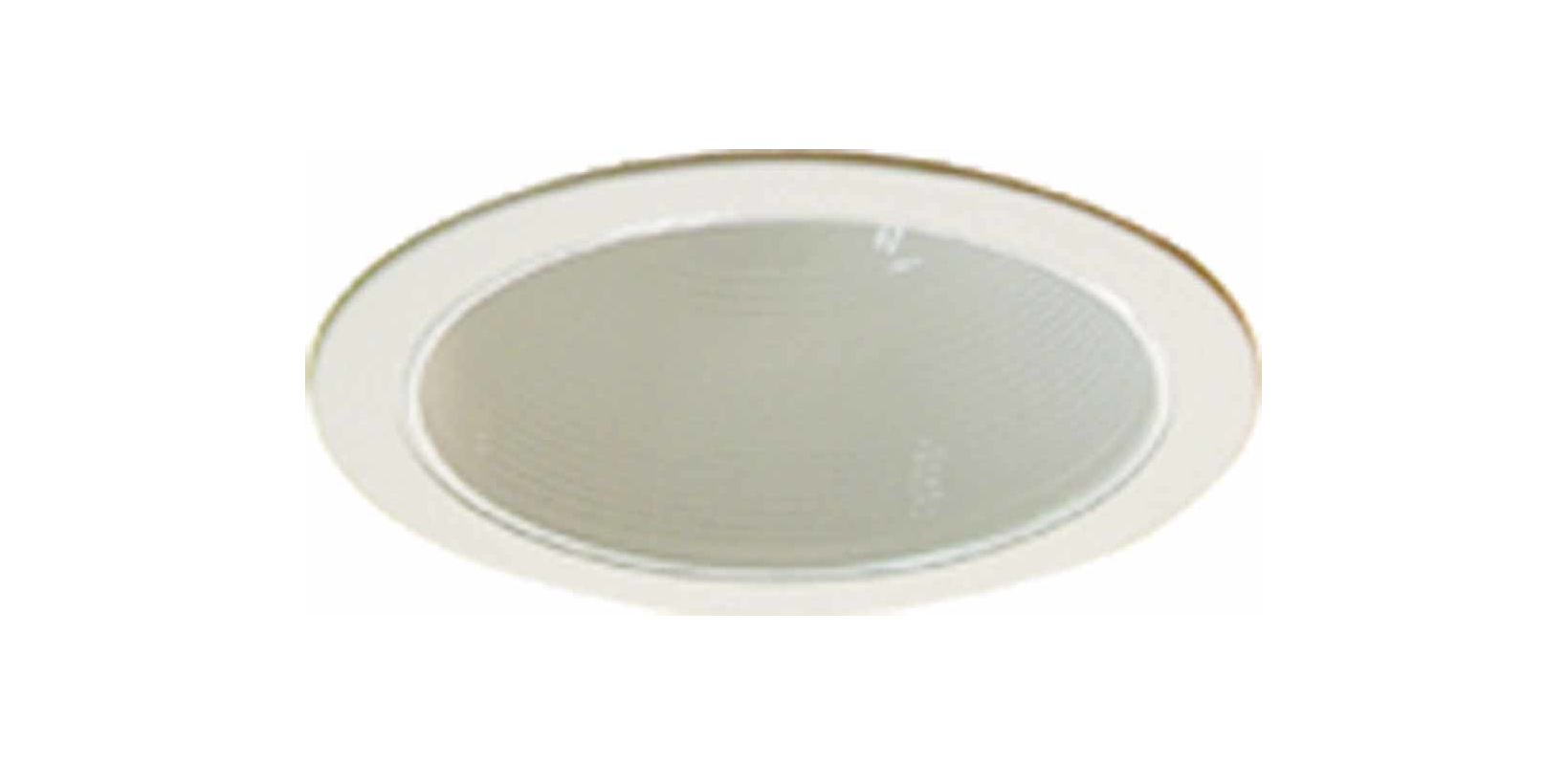 "Volume Lighting V8016 6"" Recessed trim with Metal Baffle and 75 Watt"