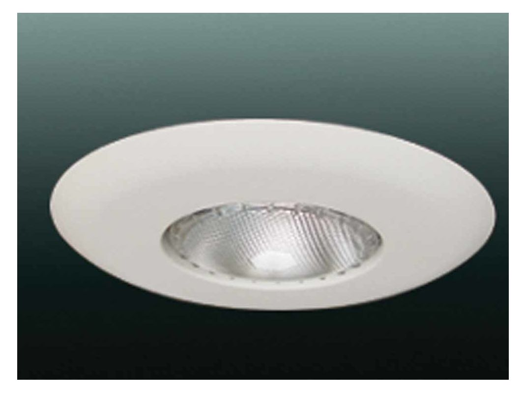 "Volume Lighting V8025 6"" Recessed Trim with Open Trim White Recessed"