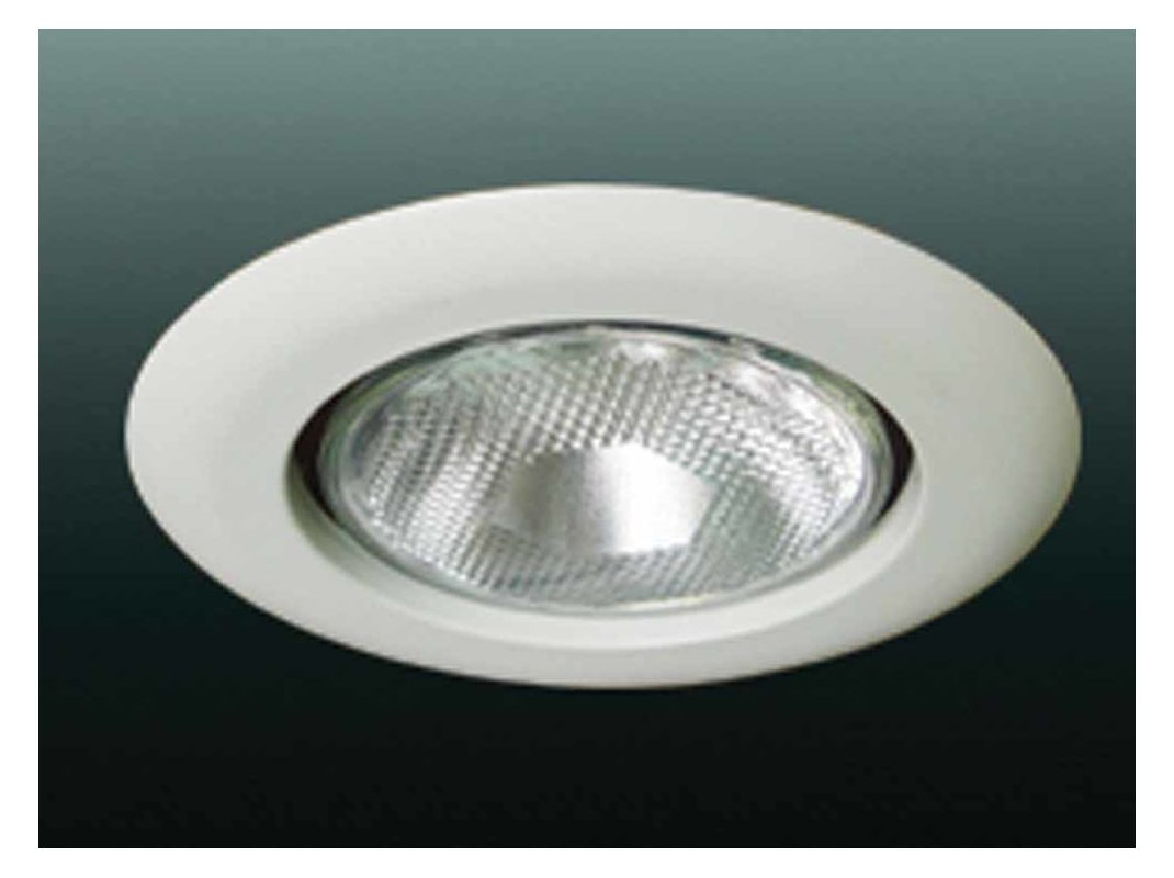 "Volume Lighting V8035 6"" Recessed Trim with Open Trim and 150 Watt"